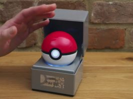 Poké Ball replica from The Wand Company