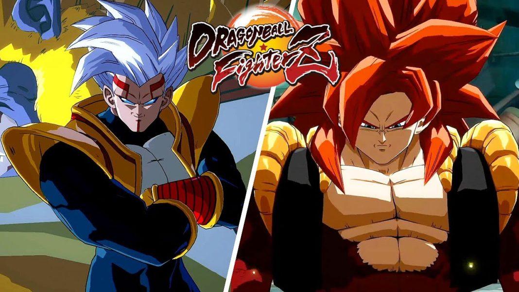 Dragon Ball FighterZ - Super Baby 2 X Gogeta Super Saiyajin 4