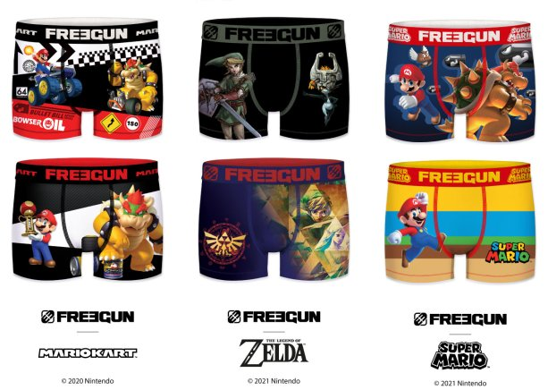 Freegun X Mario Kart, Super Mario & The Legend of Zelda