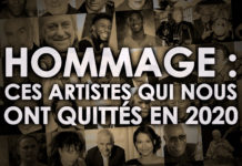 Hommage artistes 2020