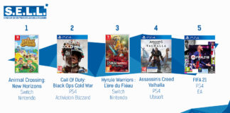 TOP Ventes Jeux Video sem 48 2020