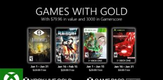 Xbox - January 2021 Games with Gold
