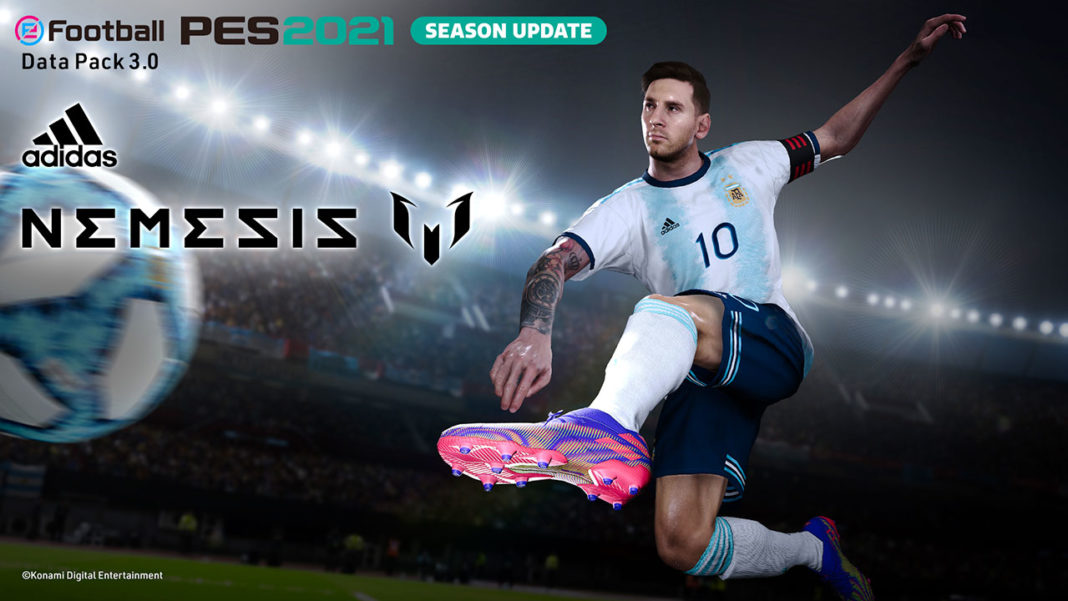 eFootball PES 2021_DP3_spike_adidas_NEMEZIZ_MESSI