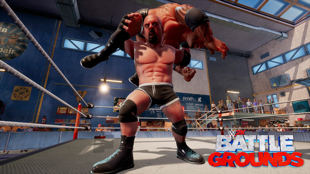 2K-WWE-2K-Battlegrounds_Goldberg_Combat