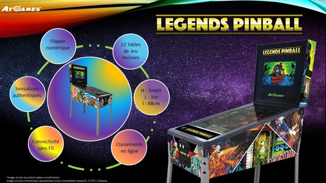Legends Pinball