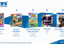 TOP Ventes Jeux Video sem 2 2021