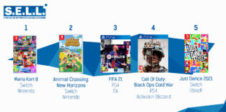 TOP Ventes Jeux Video sem 52 2020