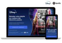 WandaVision Disney + Spotify