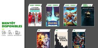 Xbox Game Pass Janvier 2021