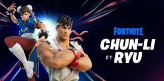 Fortnite X Street Fighter Chun-Li & Ryu