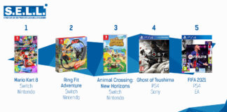 TOP Ventes Jeux Video sem 3 2021