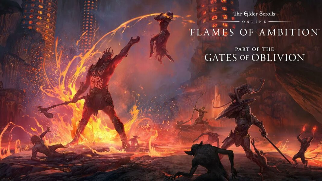 The Elder Scrolls Online- Flames of Ambition