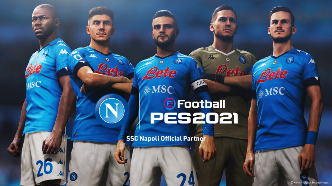 eFootball PES 2021_SSCNapoli_Players