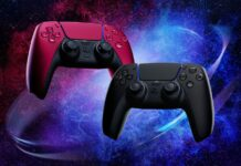 DualSense Midnight Black et Cosmic Red