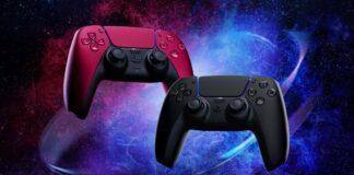 DualSense Midnight Black et Cosmic Red