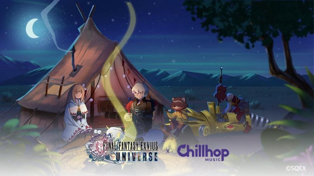 FINAL FANTASY EXVIUS UNIVERSE x Chillhop Music