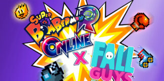 Fall Guys: Ultimate Knockout X SUPER BOMBERMAN R ONLINE