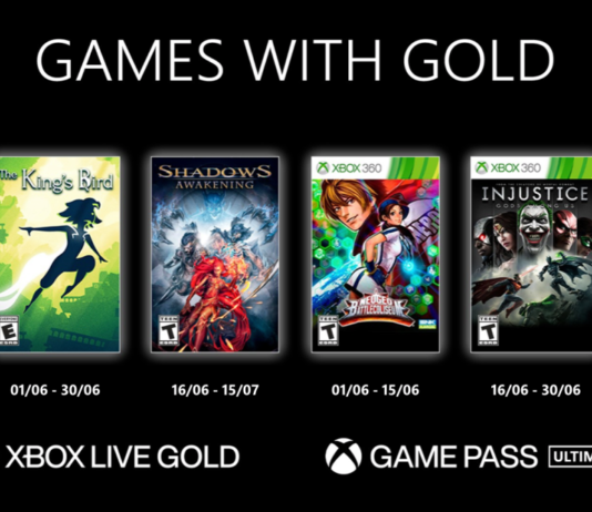 Xbox Live Games With Gold-Juin-2021