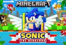Sonic-the-Hedgehog-X-Minecraft