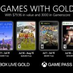 Xbox Live Games With Gold Juillet 2021