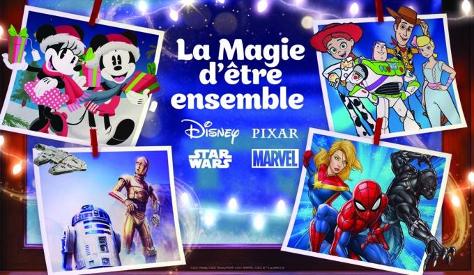 Disney LA MAGIE D'ÊTRE ENSEMBLE