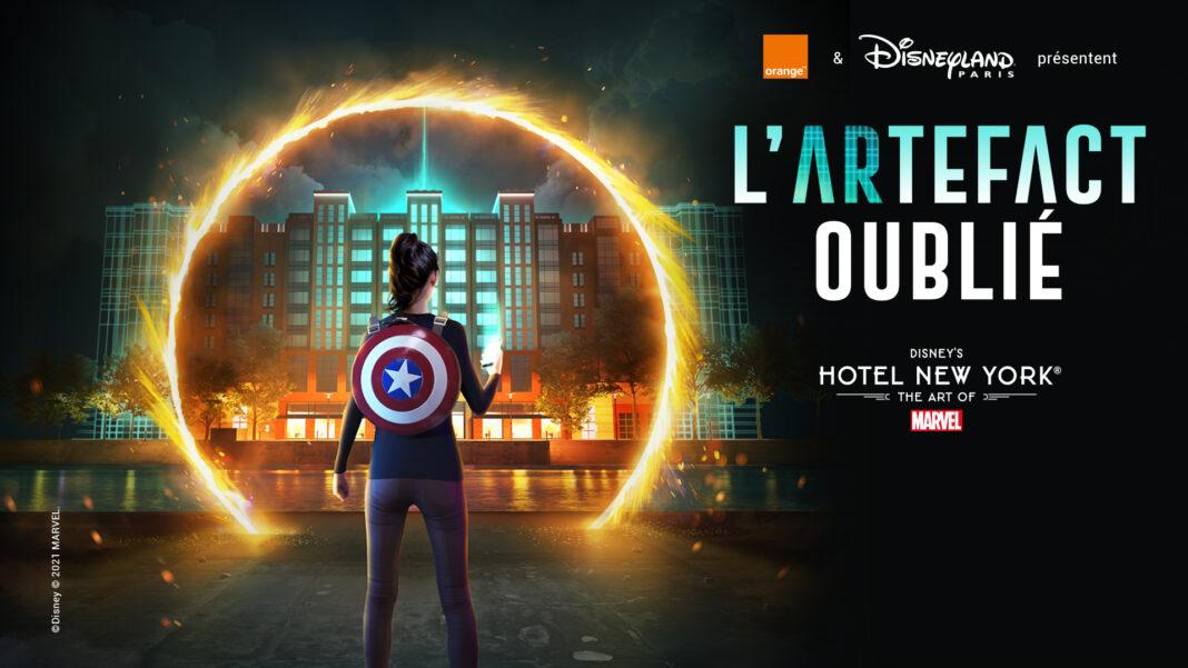 L'artefact Oublié Disneyland Paris