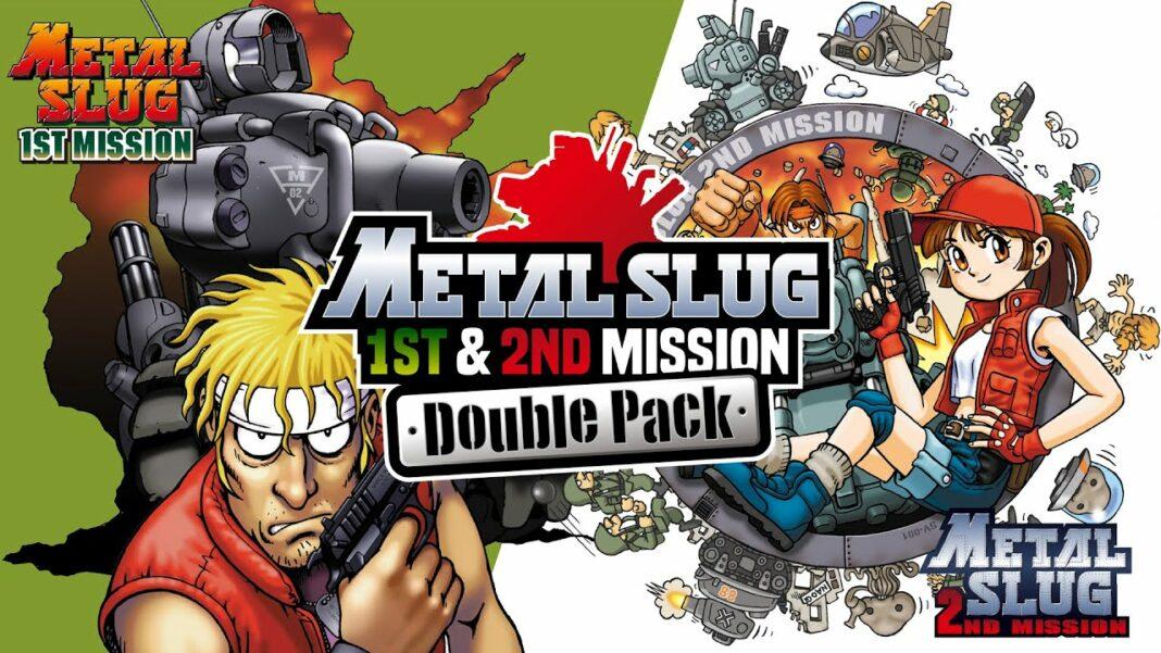 METAL SLUG 1st MISSION & 2nd MISSION DOUBLE PACK