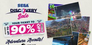 SEGA Discovery Sale