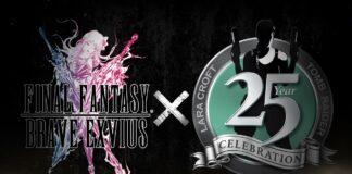 Final Fantasy Brave Exvius X Tomb Raider